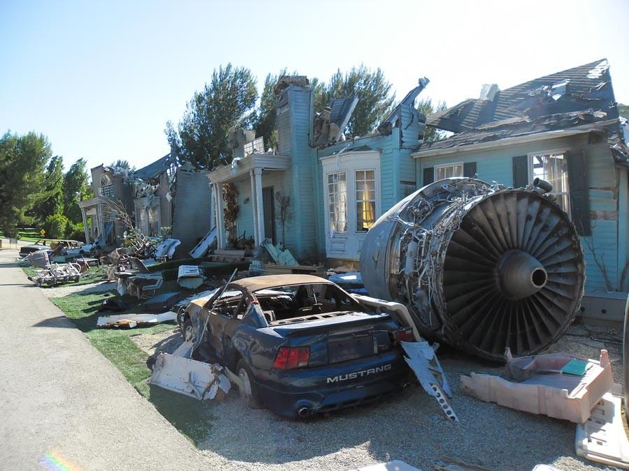 Themenparks Szene Katastrophenfilme