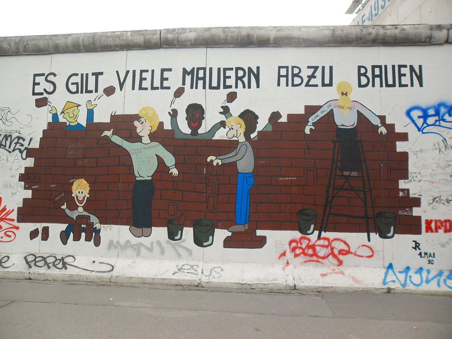 Berlin - es gilt viele Mauern abzubauen