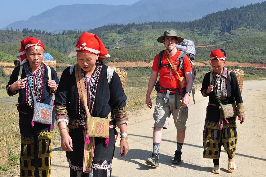 Nachhaltiges Reisen - Trekking im Sapa Tal