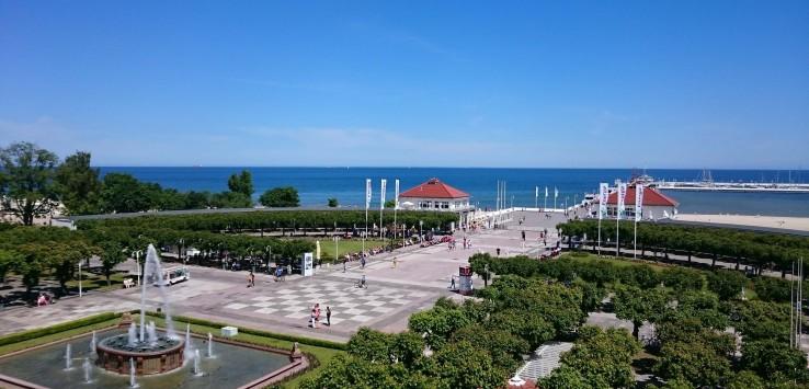 Promenade of Sopot
