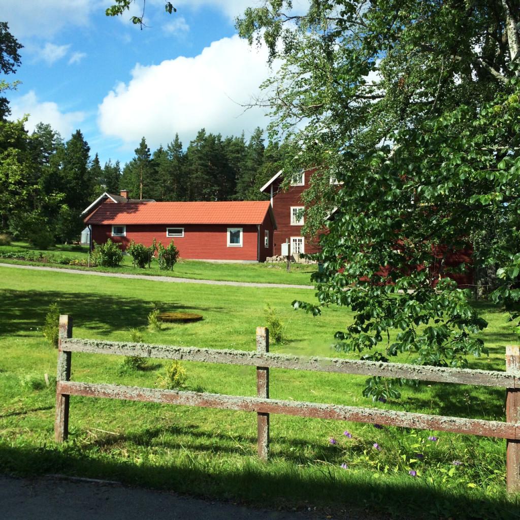 Typische Häuser in Schweden