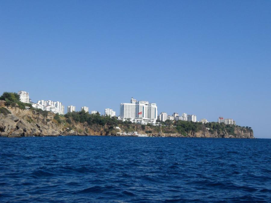 Küste von Antalya - die Türkische Riviera