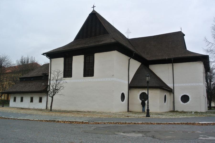 Die Holzkirche in Kezmarok