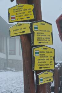 Hrebienok ist Ausgangsort für viele Wander-und Kletterrouten