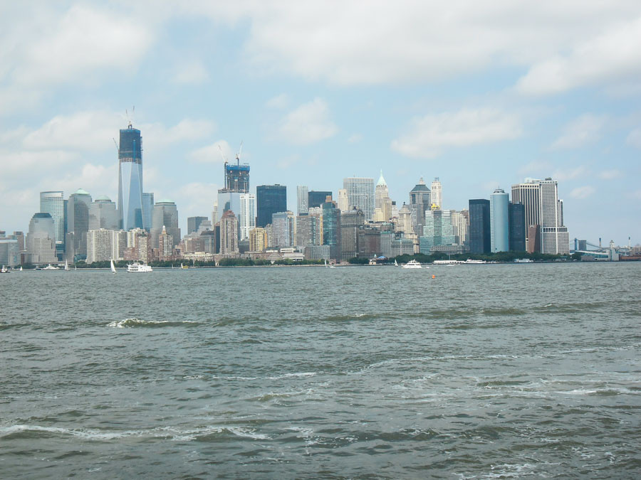 Manhattan Skyline muss auch auf eine Bucket List