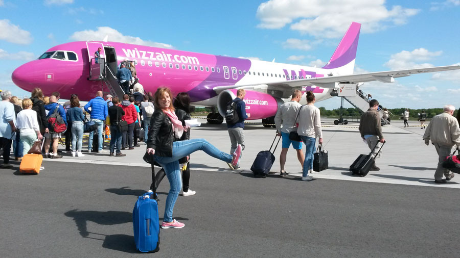 Wizzair Flug nach Gdansk
