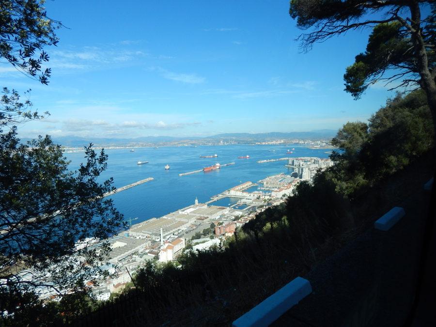 Gibraltar Kurzreise - Aussicht