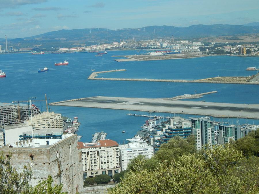 Gibraltar Kurzreise - Flugbahn
