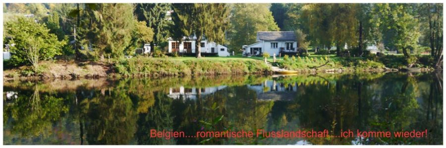 Belgien - Flusslandschaft