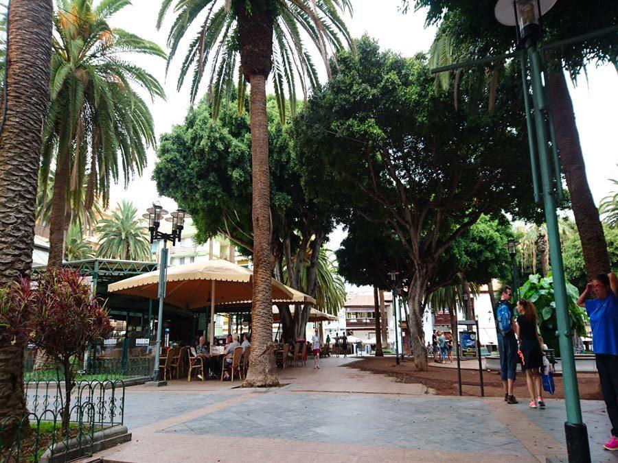 Puerto de la Cruz Tipps - Plaza del Charco