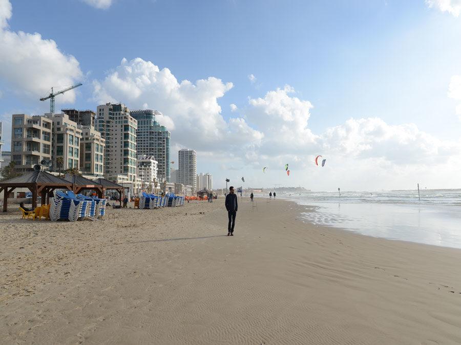 Israel Kurzreise - Tel Aviv Strand