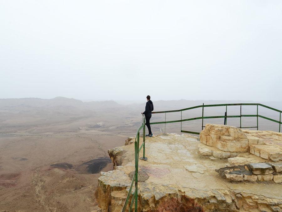 Israel Kurzreise - Wuestenkrater nahe Mitzpe Ramon