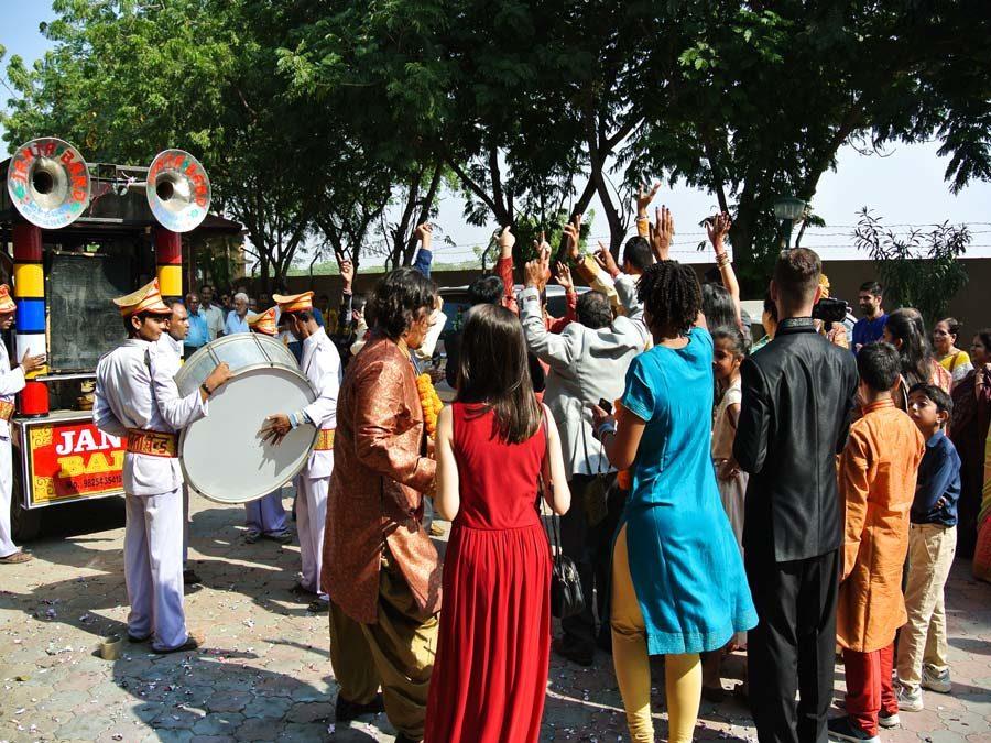 Indientrip - Tanz am Hochzeitstag