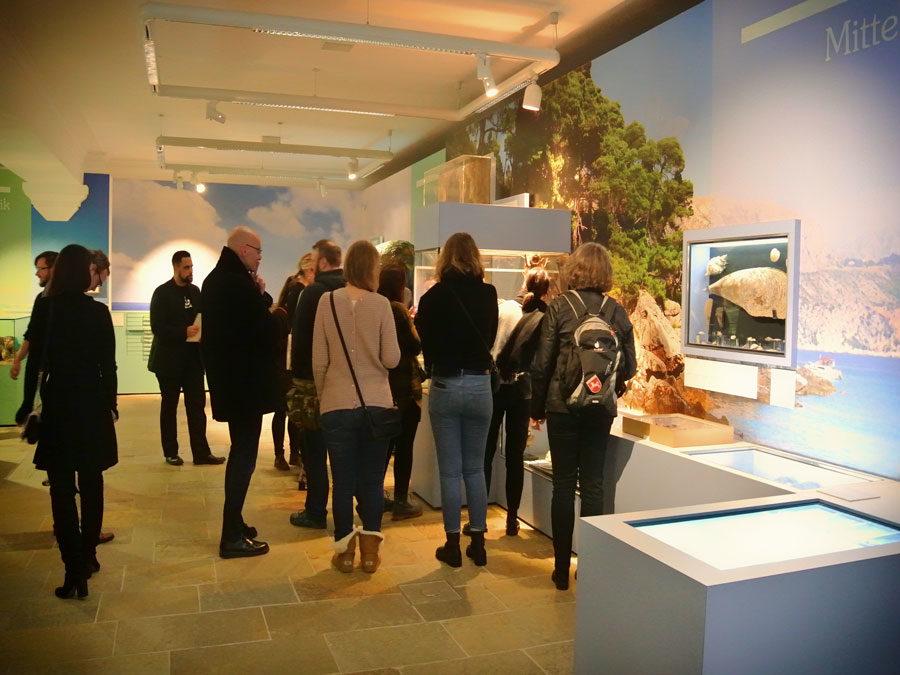 Instawalk Landesmuseum Hannover - begeisterte Teilnehmer