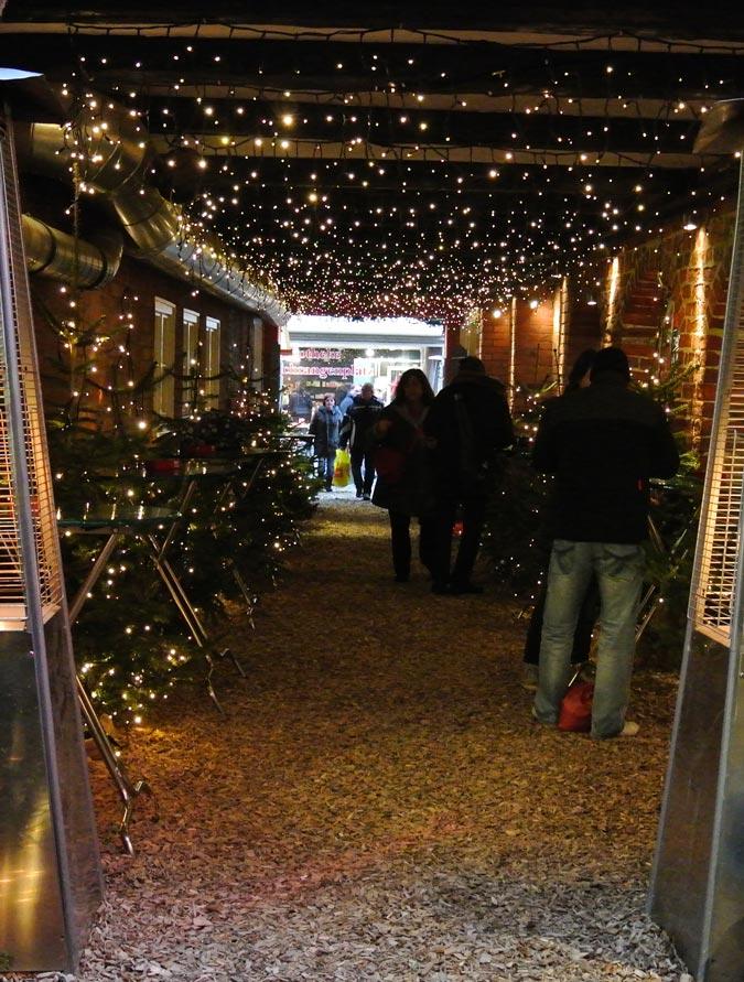 Lüneburg - Kleinster Weihnachtsmarkt Deutschlands
