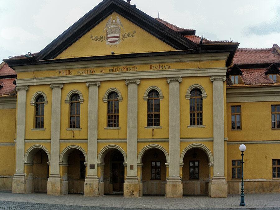 Ostslowakei Innenstadt Kezmarok