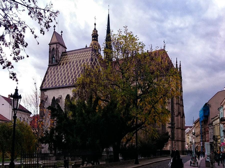 Ostslowakei Dom von Kosice