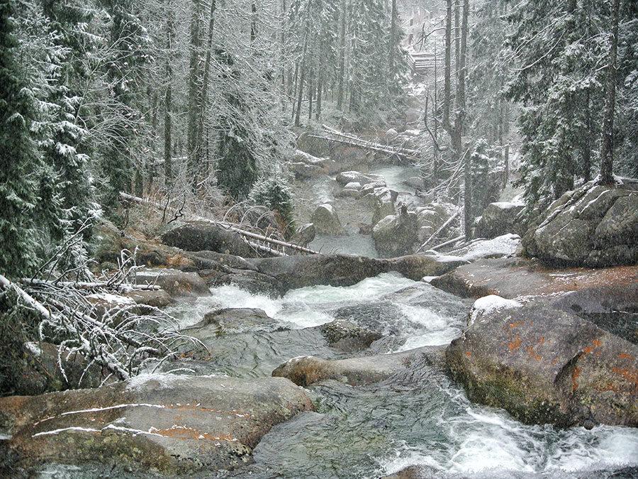 Ostslowakei Tatra Vadopady